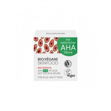 Crema viso 24 ore Papaya 50 ml Bio Végan
