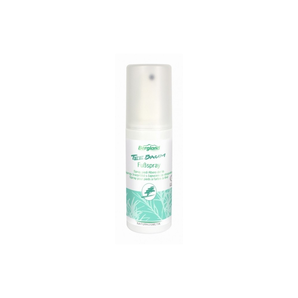 Spray piedi Tea Tree 100 ml Bergland