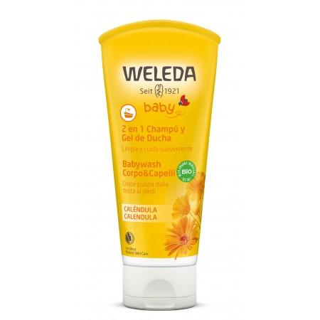 Babywash corpo e capelli Calendula 200 ml Weleda