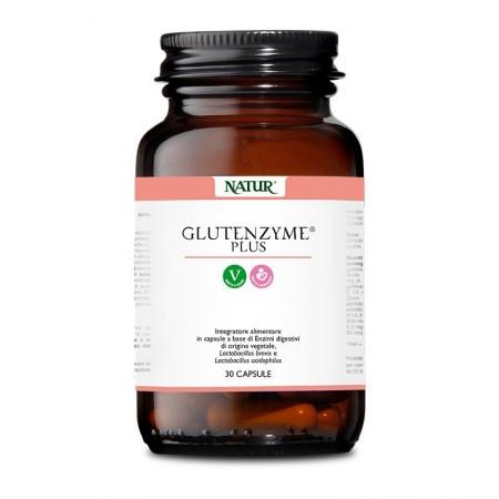 Natur Glutenzyme plus 30 capsule vegetali Integratore alimentare
