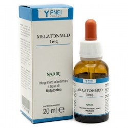 Natur Melatonmed 1 mg gocce 20 ml Integratore alimentare