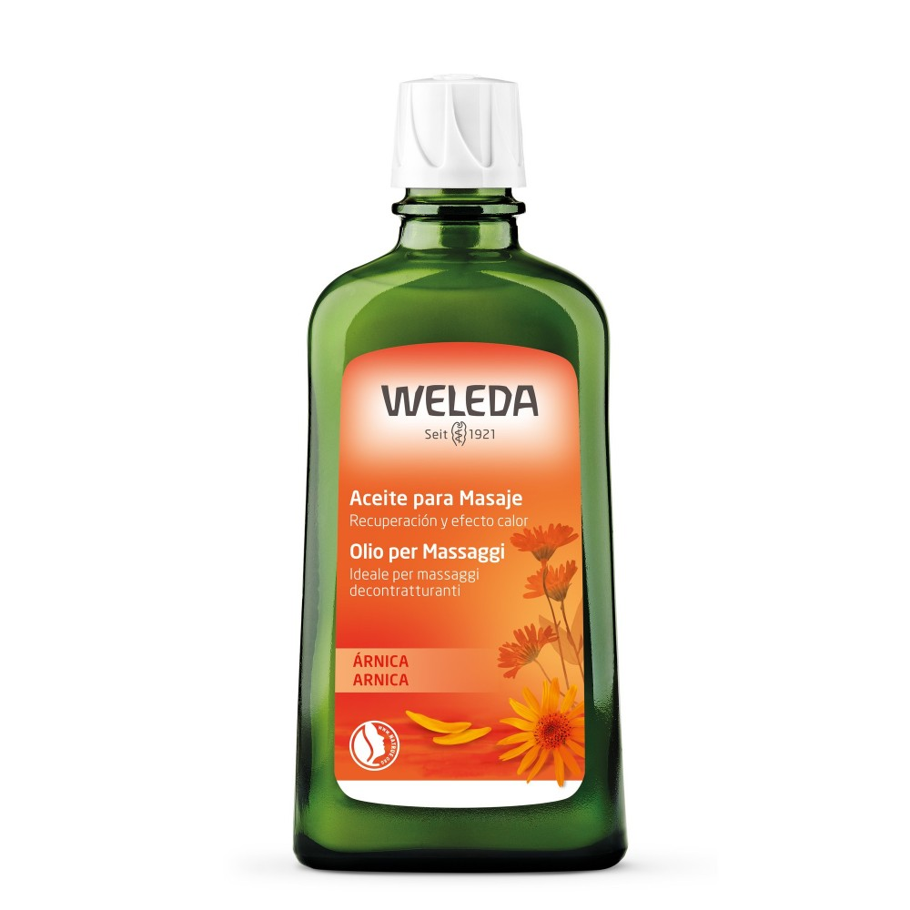 Olio per Massaggi Arnica 200 ml Weleda