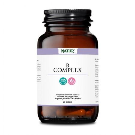 Natur B Complex 30 capsule vegetali Integratore alimentare