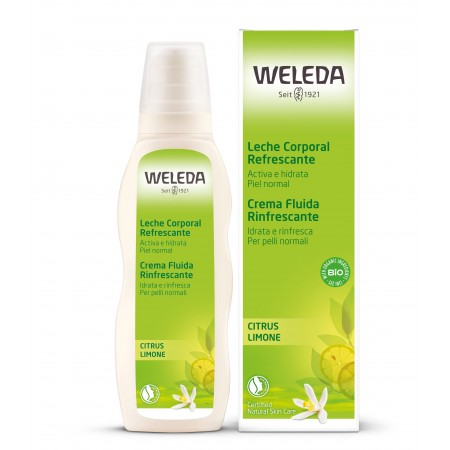 Crema Fluida Idratante Limone 200 ml Weleda