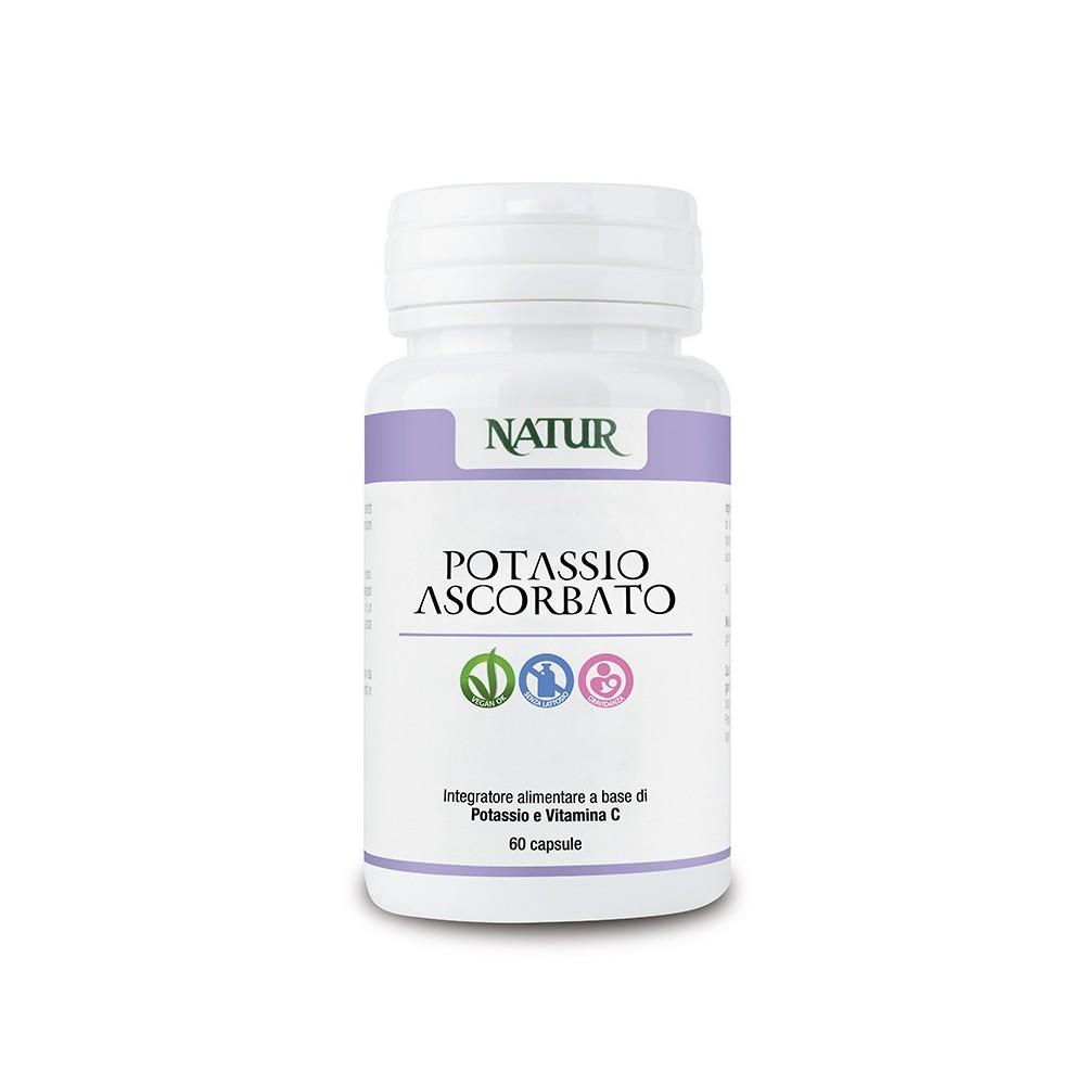 Natur Potassio Ascorbato 60 capsule