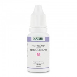 Natur Nutrisorb Liquid Biomulsion D da 10 ml Integratore alimentare