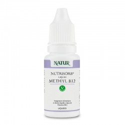 Natur Nutrisorb Liquid Methyl B12 da 15 ml Integratore alimentare