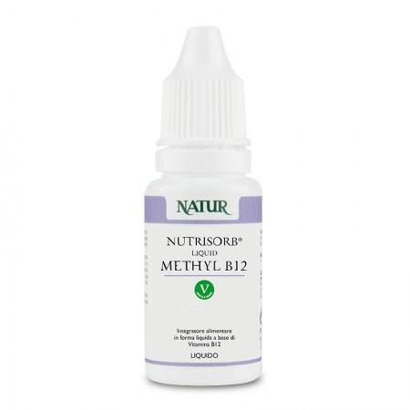 Natur Nutrisorb Liquid Methyl B12 da 15 ml Integratore alimentare