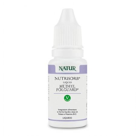 Natur Nutrisorb liquid Folguard (folato+b12) 15 ml Integratore alimentare