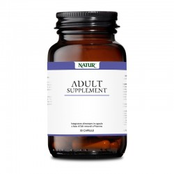 Natur Adult Supplement 30 capsule vegetali Integratore alimentare