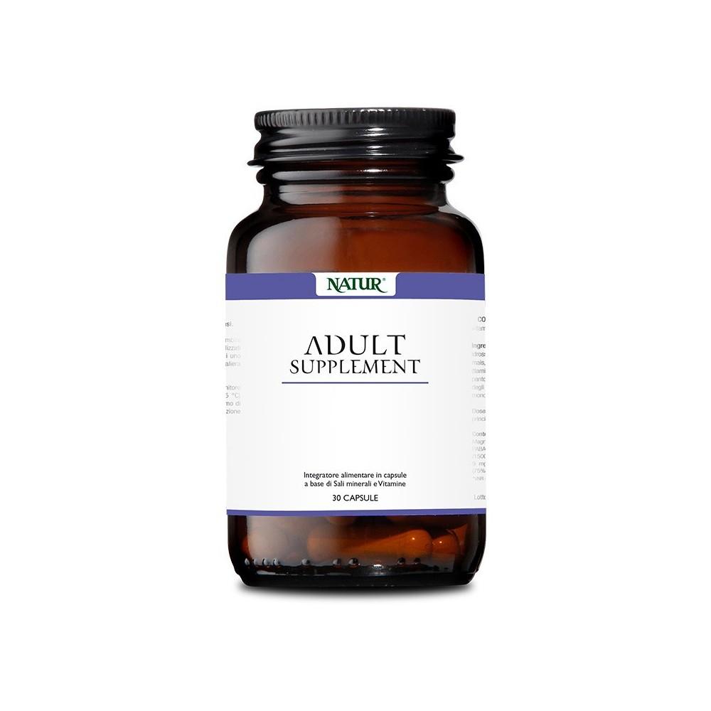 Natur Adult Supplement 30 capsule