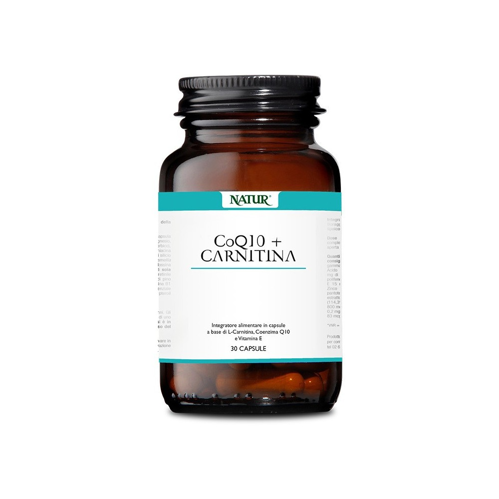 Natur Co Q 10 + Carnitina 30 capsule
