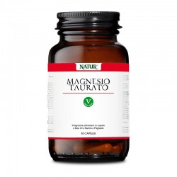 Natur Magnesio Taurato 30 capsule vegetali Integratore alimentare