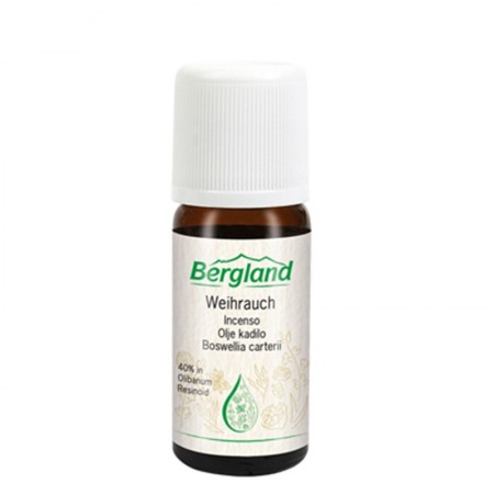 Olio Naturale Incenso 10 ml Bergland