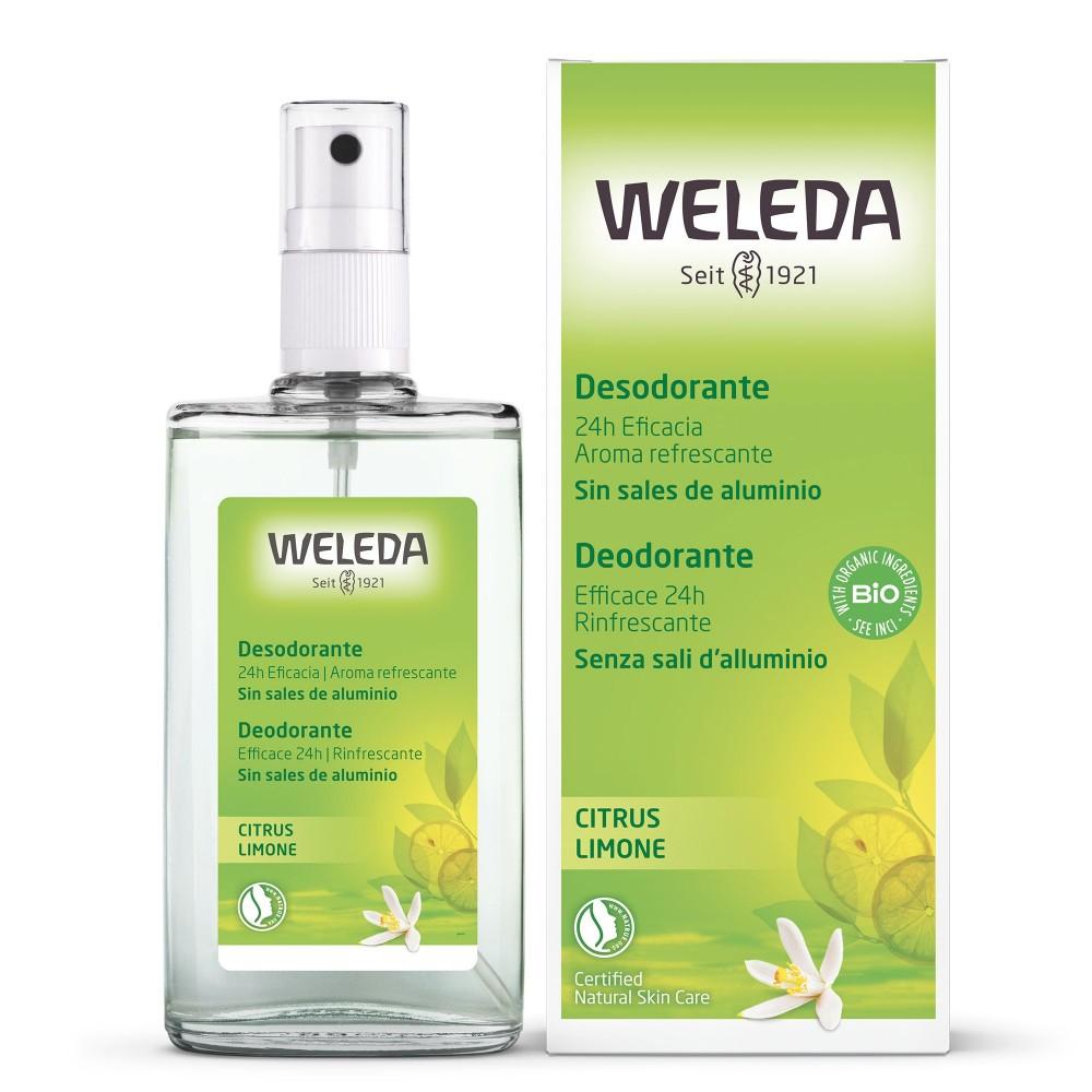 Deodorante Spray Limone 100 ml Weleda
