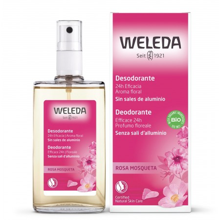 Deodorante Spray Rosa Mosqueta 100 ml Weleda