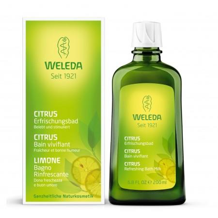 Bagno Rinfrescante Limone 200 ml Weleda
