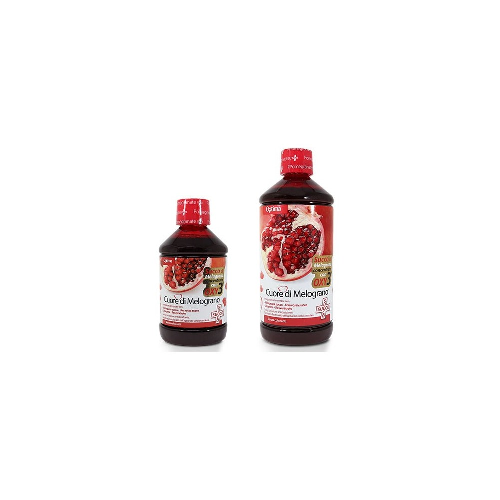 Cuore di Melograno Succo con Oxy3 500 ml