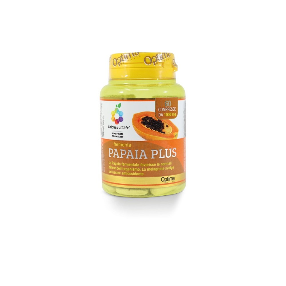 Papaia Plus 60 compresse Optima Naturals