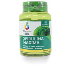 Spirulina Maxima 60 compresse Optima