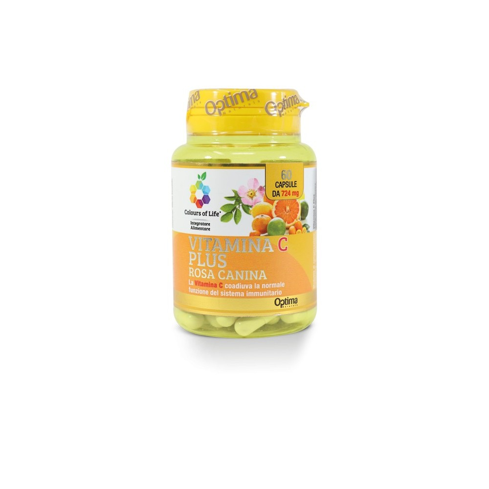 Vitamina C Plus 60 capsule Optima