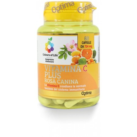 Vitamina C Plus 60 capsule Optima Naturals