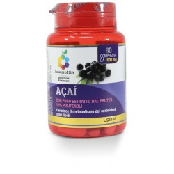 Acai 60 compresse Optima Naturals Integratore Alimentare