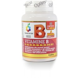 Vitamina B Complex 60 compresse Optima Naturals