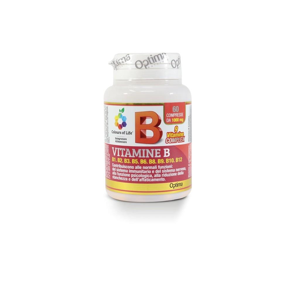 Vitamina B Complex 60 compresse Optima