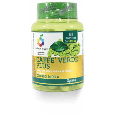 Caffè Verde Plus 60 compresse Optima Naturals
