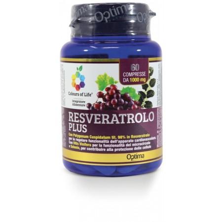 Resveratrolo Plus 60 compresse Optima Naturals