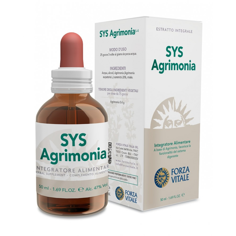 Forza Vitale Sys Agrimonia Tintura Madre