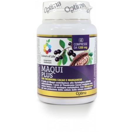 Maqui Plus 60 compresse Optima Naturals