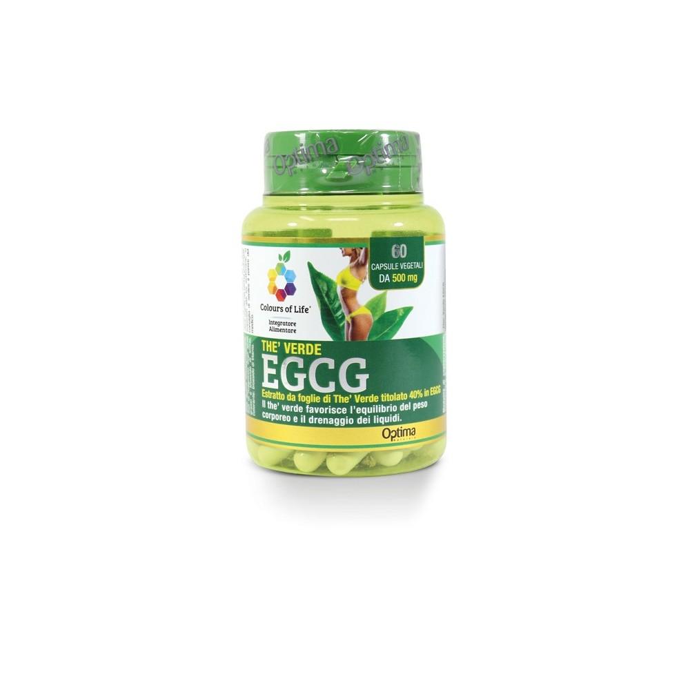 Thè Verde EGCG 60 capsule Optima