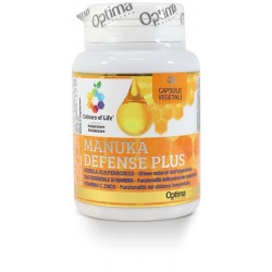 Manuka Defence Plus 40 capsule vegetali Optima Naturals