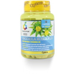 Rhodiola Rosea Plus 60 Compresse Optima Naturals