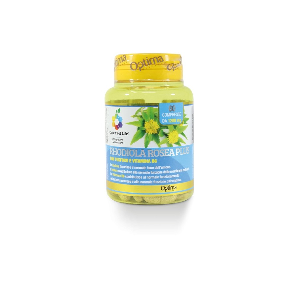 Rhodiola Rosea Plus 60 Compresse Optima