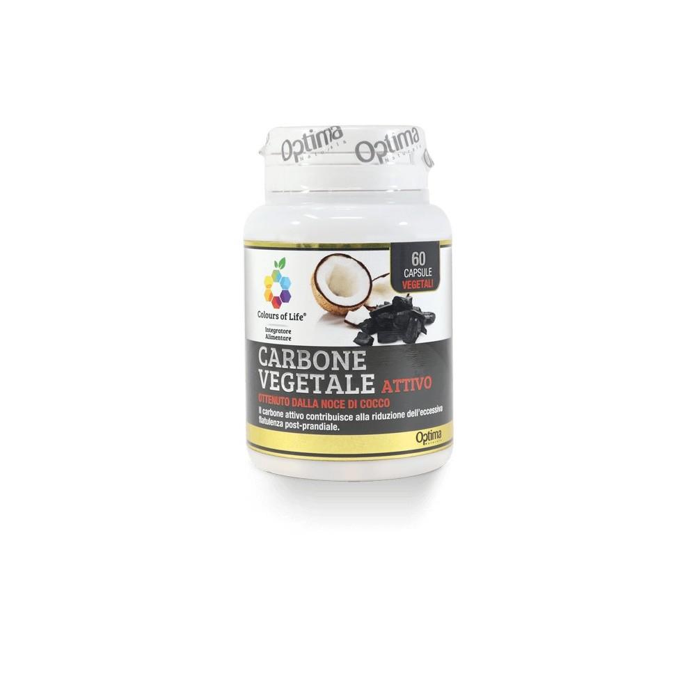 Carbone vegetale attivo 60 capsule