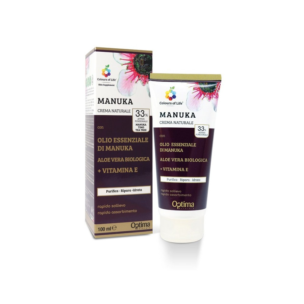 Crema Eudermica Manuka 100 ml Optima