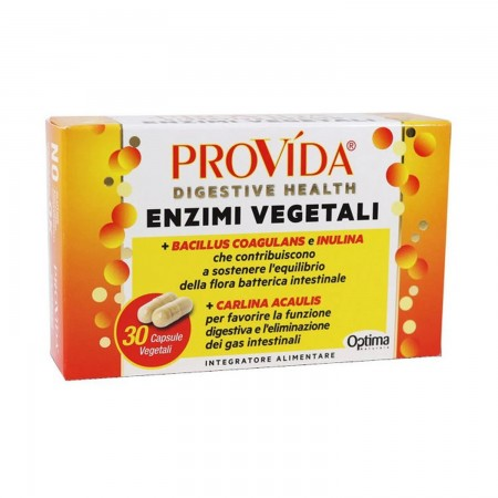 Provida Enzimi Vegetali 30 capsule Optima Naturals