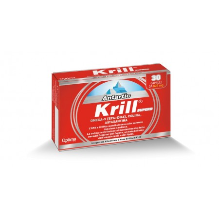 Antartic Krill Superb 30 capsule Optima Naturals