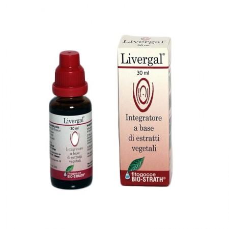 Lizofarm Livergal sciroppo 30 ml Integratore alimentare
