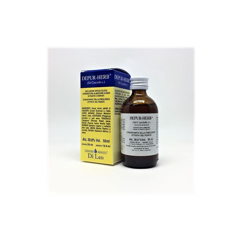 Di Leo Depur Herb S 4 Carciofo 50 ml