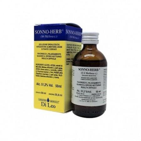 Di Leo Sonno Herb S 6 Melissa comp. 50 ml Integratore Alimentare