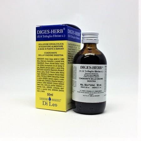 Di Leo Diges Herb S 14 Trifoglio Fibrino comp 50 ml Integratore Alimentare
