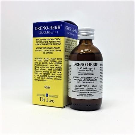 Di Leo Dreno Herb S 65 Solidago comp. 50 ml Integratore Alimentare