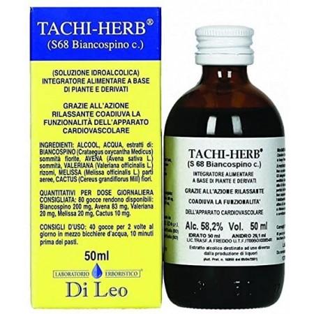 Di Leo Tachi Herb S 68 Biancospino comp. 50 ml Integratore Alimentare