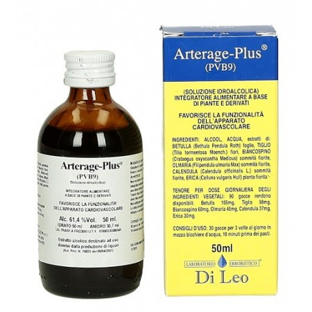 Di Leo Arterage Plus P.V.B. 9 50 ml Integratore Alimentare