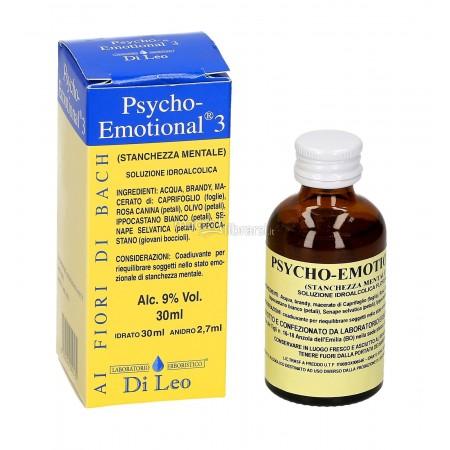 Di Leo Psycho Emotional 3 Stanchezza Mentale 30 ml