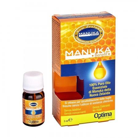 Manuka Benefit olio essenziale di Manuka 5 ml Optima Naturals